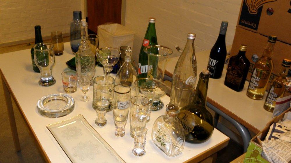 cola flaske glas